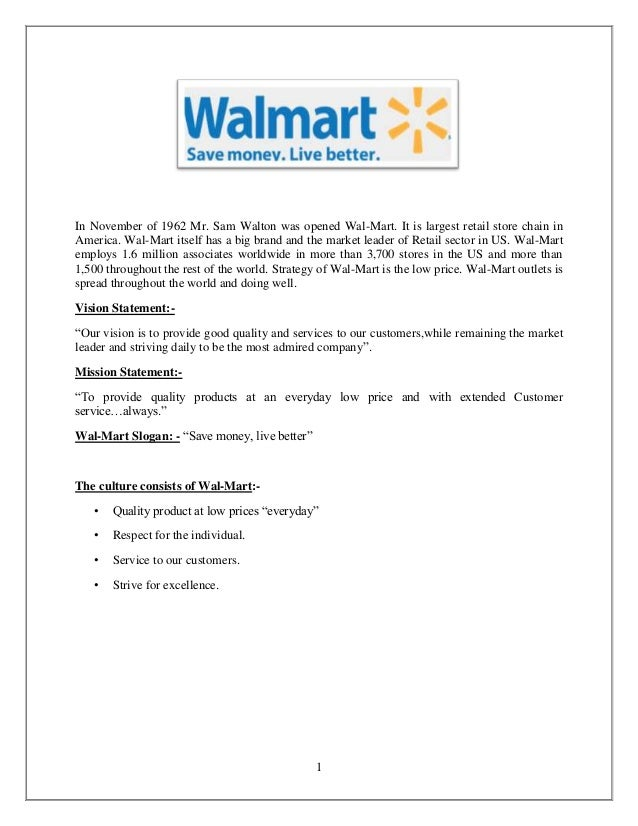 Creative writing Essay on Wal-Mart's SWOT Analysis