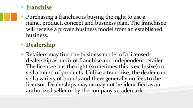 Franchise Business Planning, Franchise Fees, the UFOC, Franchise