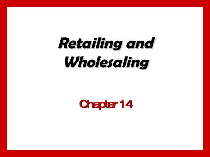 Retailing (Concept & Definition)