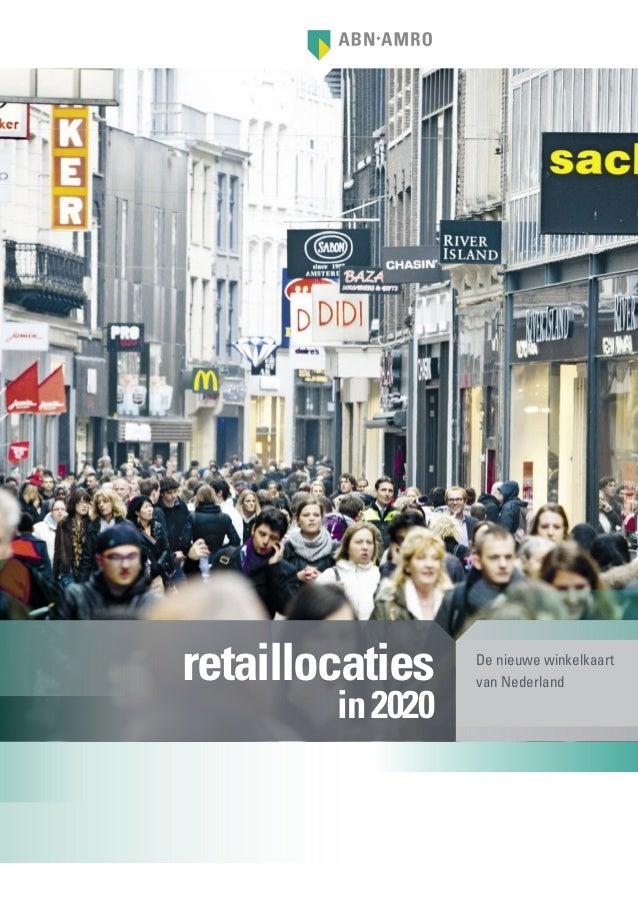 Retaillocaties in 2020