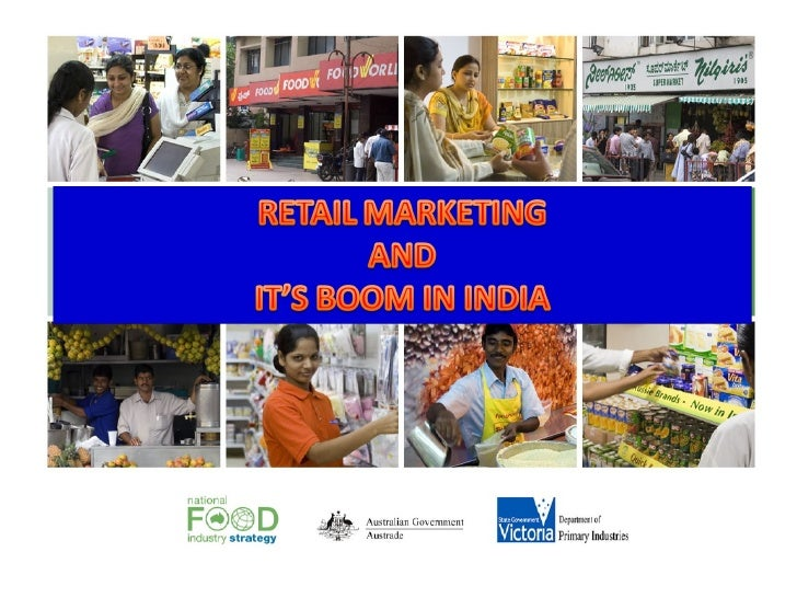 Retail marketing & its boom in india
