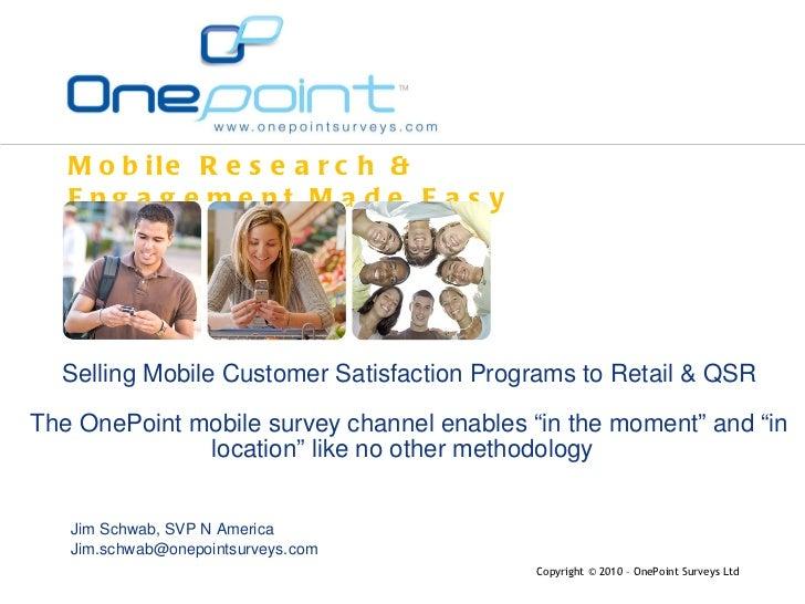 Mobile Sat Measurement Retail & QSR