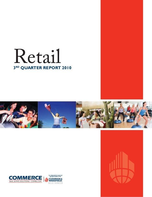 Retail3RD QUARTER REPORT 2010