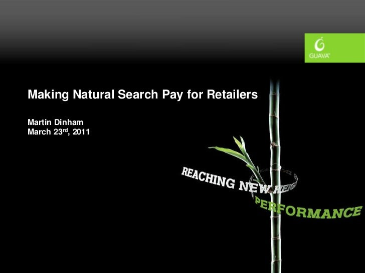 Retail seo march11