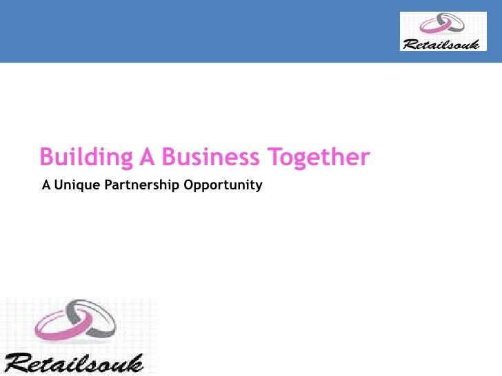 Retailsouk franchise Business Plan