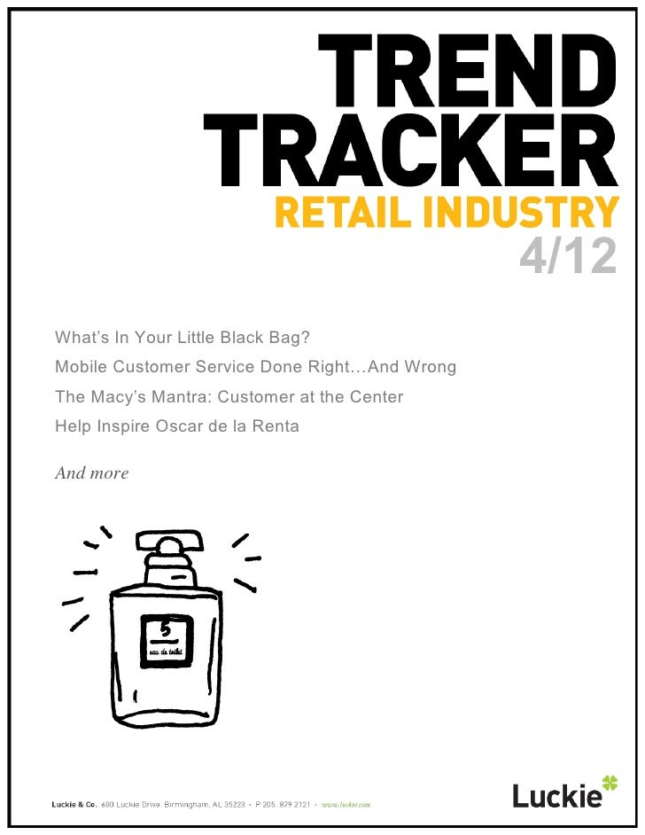 Retail trend tracker april 2012