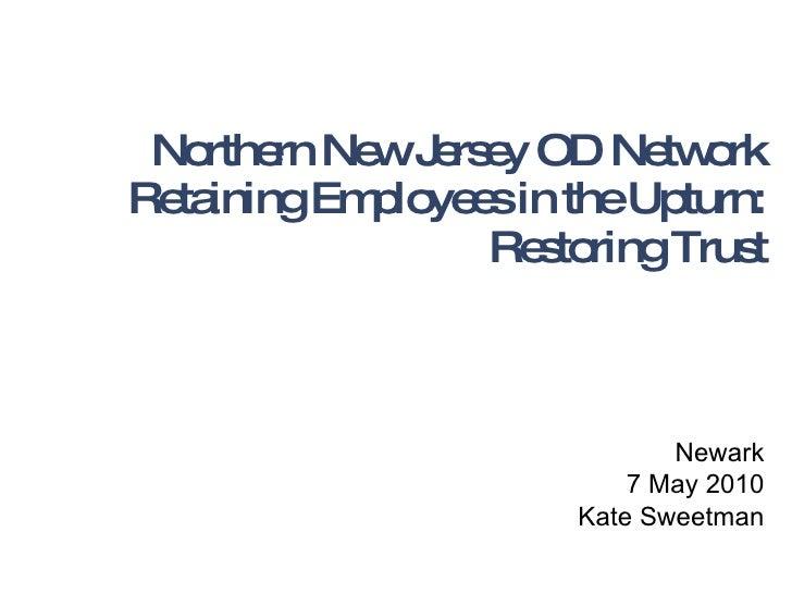 Retaining Employees in the Upturn