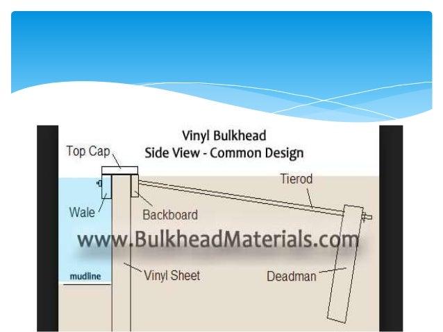 Vinyl Sheet Pile Bulkheads Marine Sheet Piling Vinyl