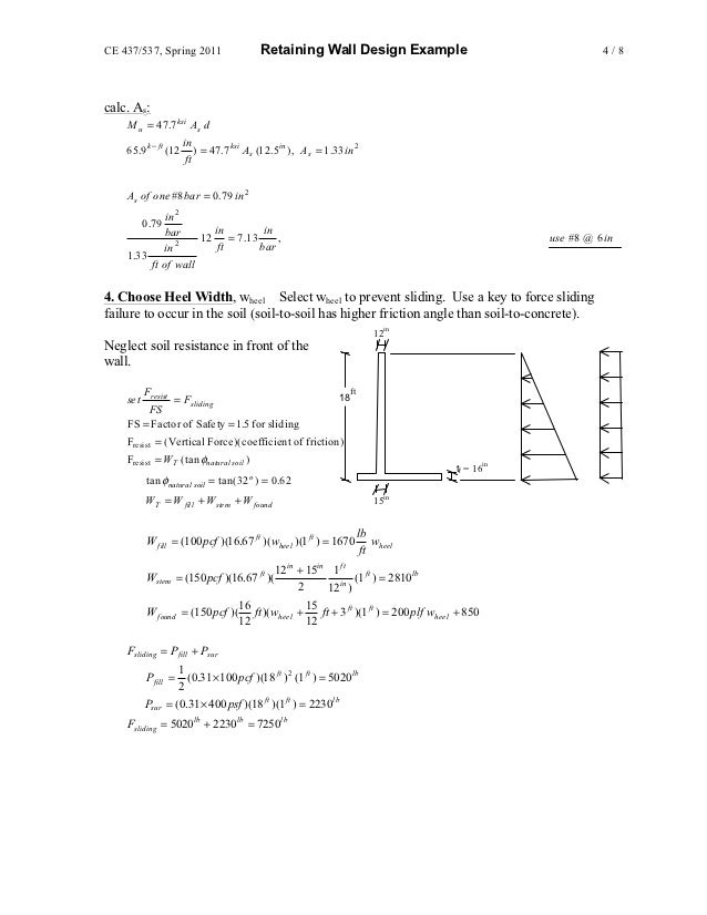 Shear Design Of Reinforced Concrete Beams Slabs And Walls Pdf
