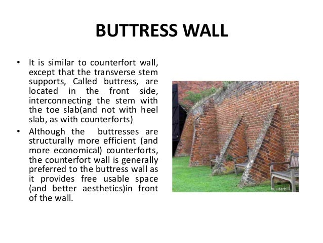 Buttress Wall Design Example : Buttress Retaining Wall retaining walls