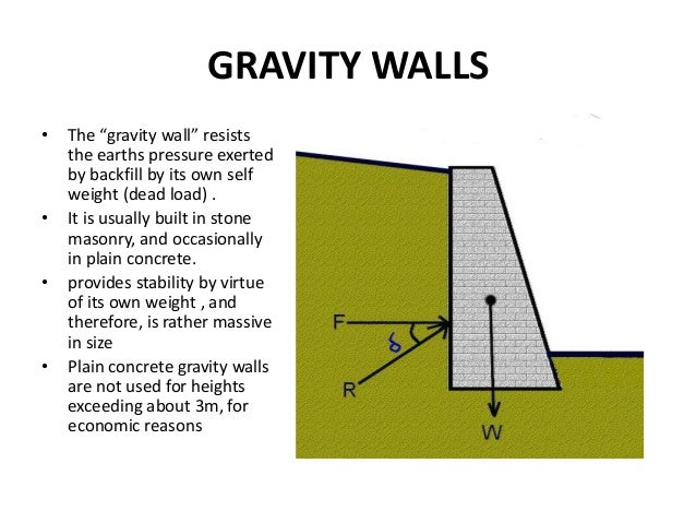 retaining walls gravity retaining walls semi gravity retaining walls cantilevered retaining walls counterfort retaining walls 8