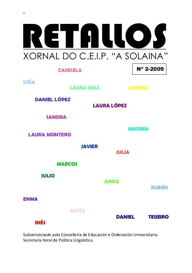 Retallos. nº 2. 2009