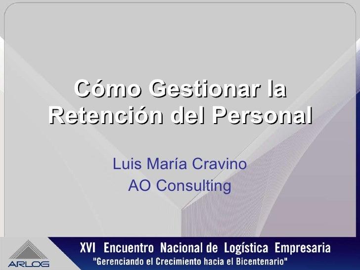 Retencion personal