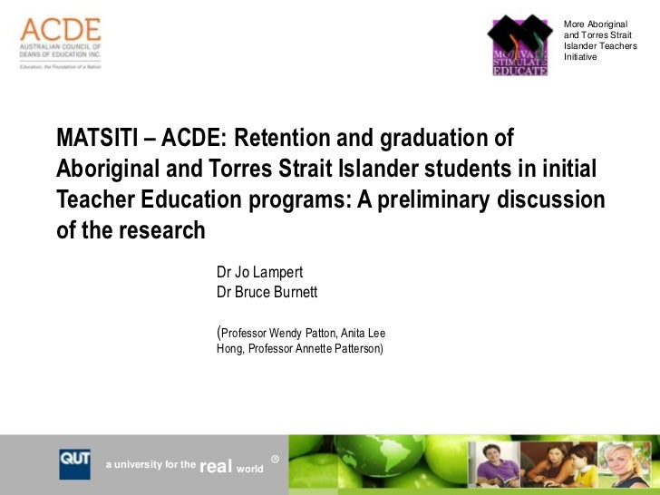 Retention and graduation in initial teacher education