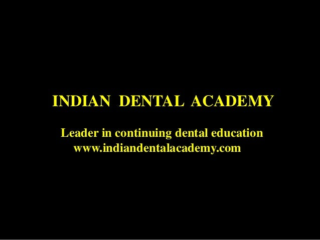 Retention  /certified fixed orthodontic courses by Indian dental academy
