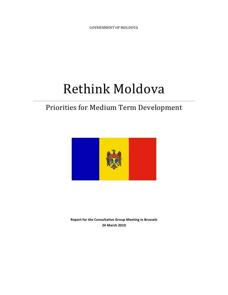 GOVERNMENTOFMOLDOVA             RethinkMoldova     PrioritiesforMediumTermDevelopment  ...
