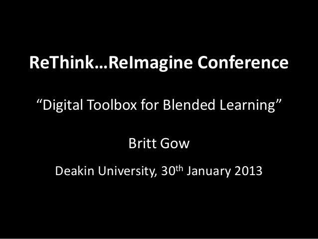 Digital Toolbox for Blended Learning