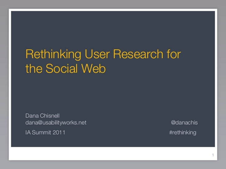 Rethinking user research for social design