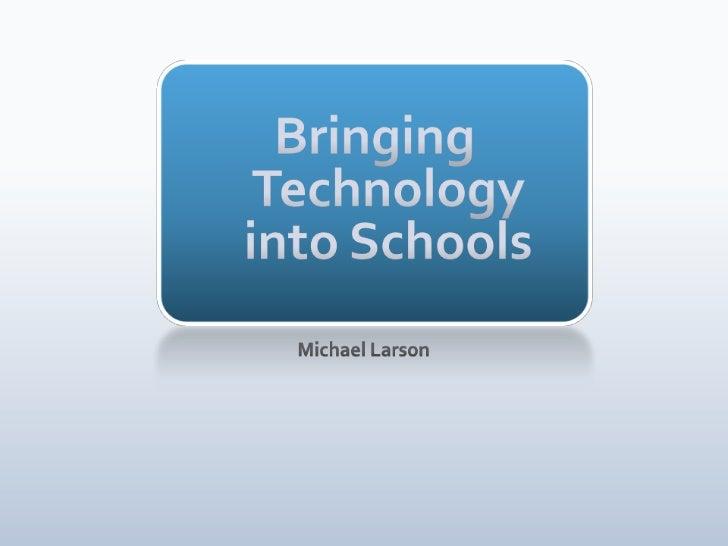 Is education leaving schools?                                                                                             ...