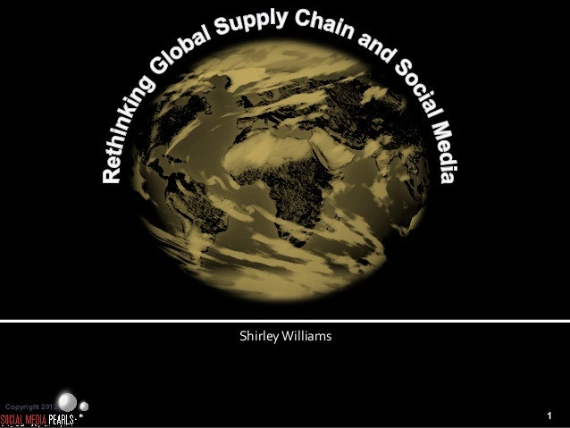 Rethinking global supply chain and social media