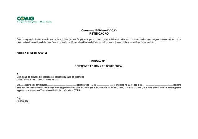 Retificação edital 02 2012 - publicado no minas gerais em 11.08.12 (1)