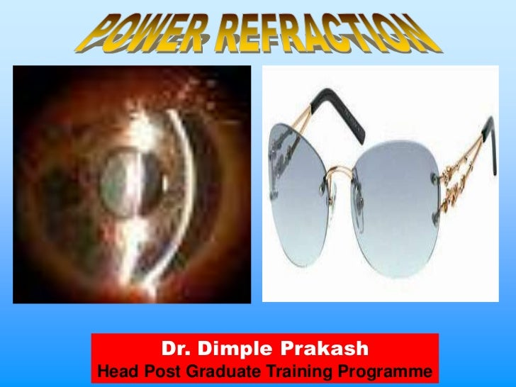 Refraction and Retinoscopy