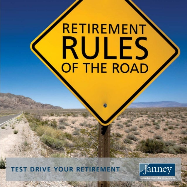 YOU WOULDN'TBUY A CAR WITHOUTA TEST DRIVE.SO WHY PLANYOUR RETIREMENTTHAT WAY?