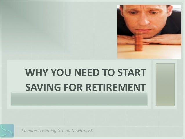 Why You Should Be Worried About Retirement