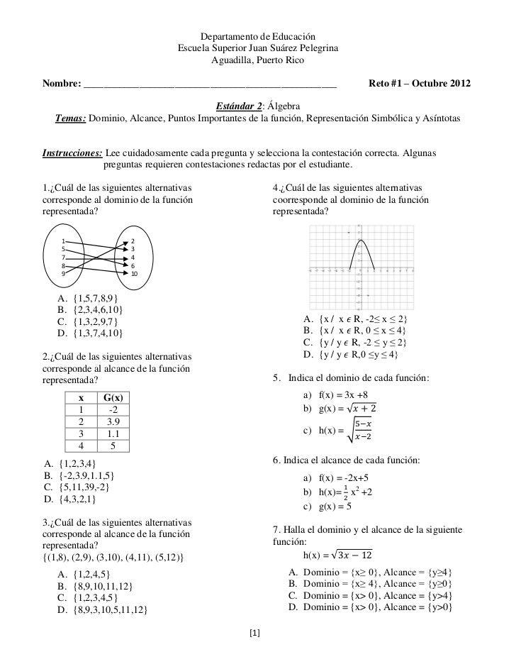 Departamento de Educación                                  Escuela Superior Juan Suárez Pelegrina                         ...