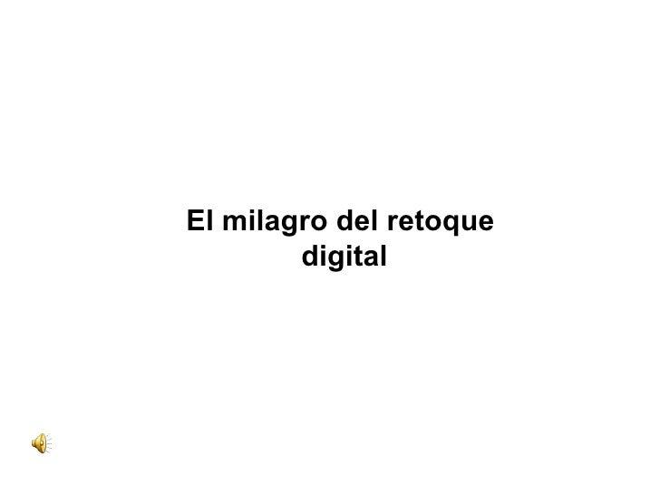 Retoque digital