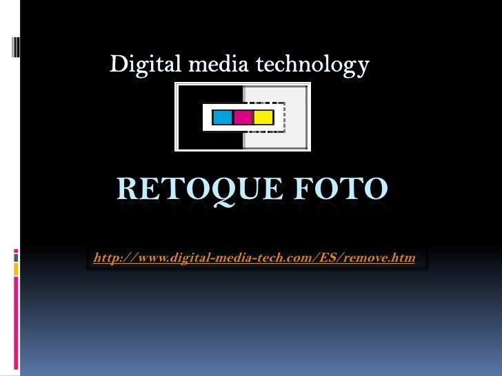 Retoque foto | Group DMT