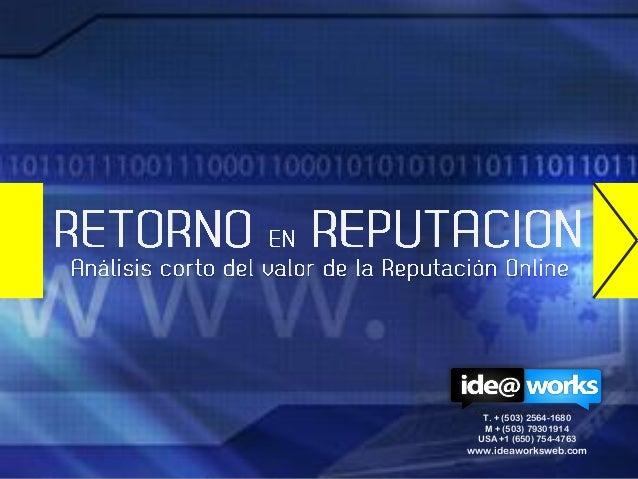 T. + (503) 2564-1680  M + (503) 79301914 USA +1 (650) 754-4763www.ideaworksweb.com