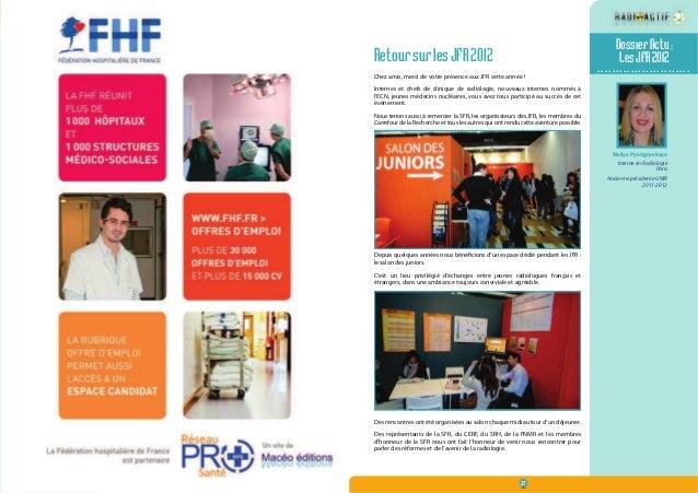 N° 12  Décembre 2012  26 27  Dossier Actu :  Les JFR 2012  .........................  Retour sur les JFR 2012  Chez amis, ...