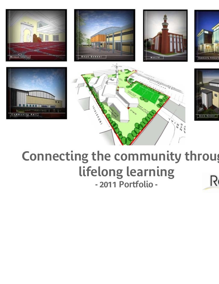 Connecting the community through         lifelong learning           - 2011 Portfolio -