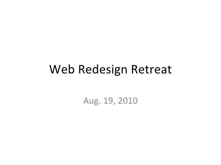 Web Team Retreat