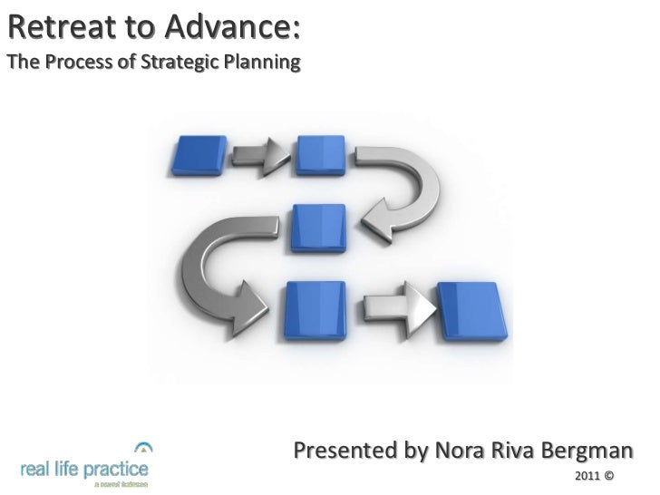 Retreat to Advance:<br />The Process of Strategic Planning<br />Presented by Nora Riva Bergman<br />2011 ©<br />