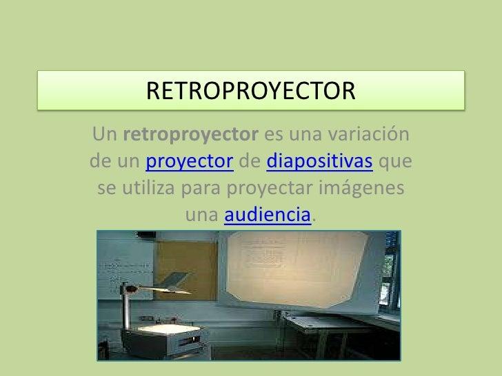 Retroproyector