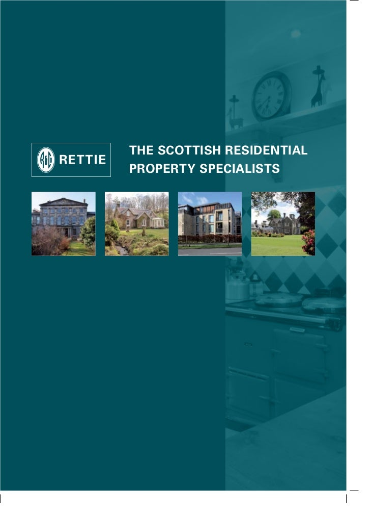 The ScoTTiSh reSidenTialProPerTy SPecialiSTS