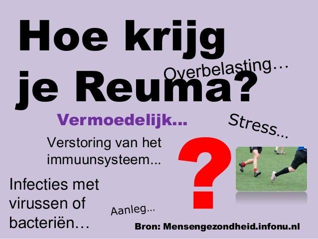 reuma artrose verschil