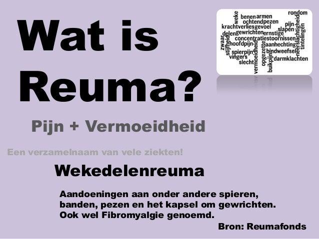 verschil reuma en artrose