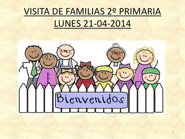VISITA DE FAMILIAS 2º PRIMARIA LUNES 21-04-2014 1