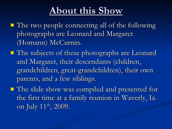 McCurnin Family Reunion