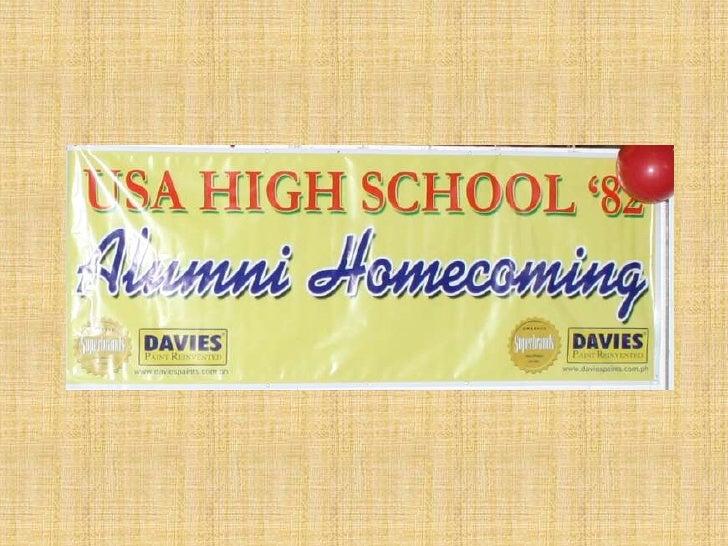 USAHS 82 Alumni Homecoming 25 years