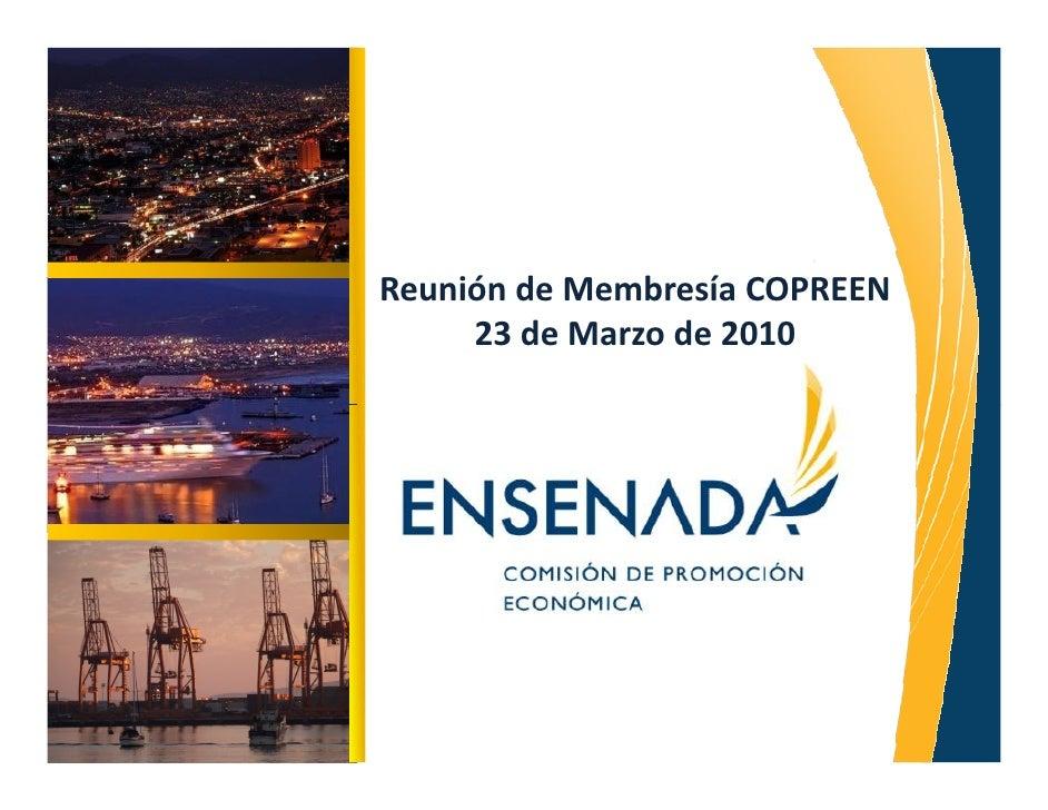 Reunión de Membresía COPREEN      23 de Marzo de 2010