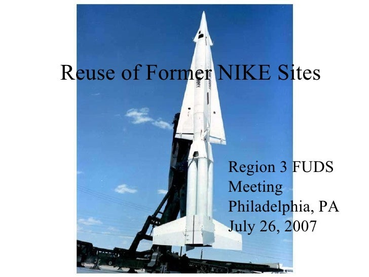 Reuse of Former NIKE Missile sites