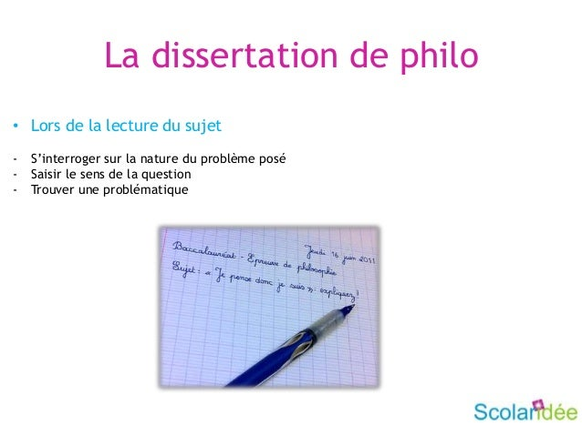 Write my dissertation de philo