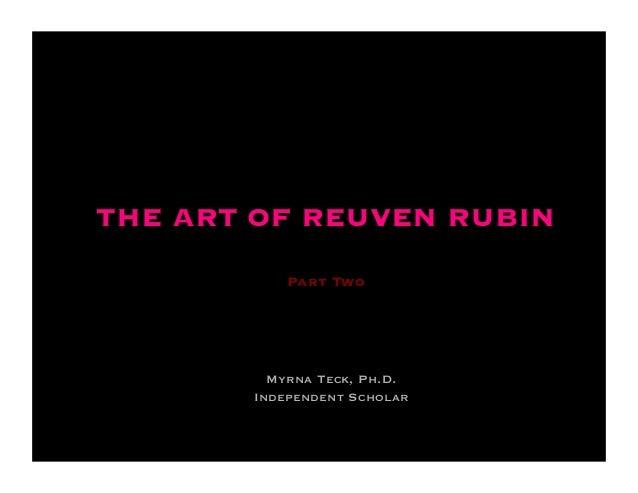 Reuven rubin2 102810