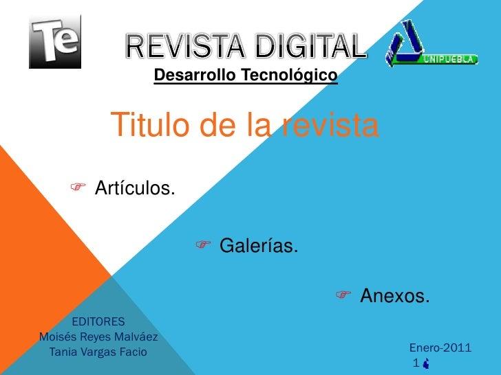 Rev. digital