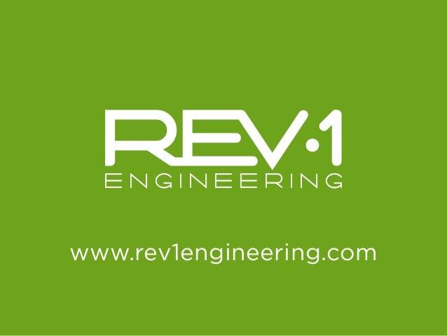 Rev1 Engineering - INNOVATION flipbook