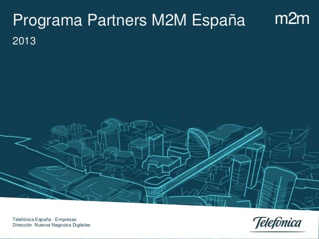 Programa Partners M2M España - movilforum